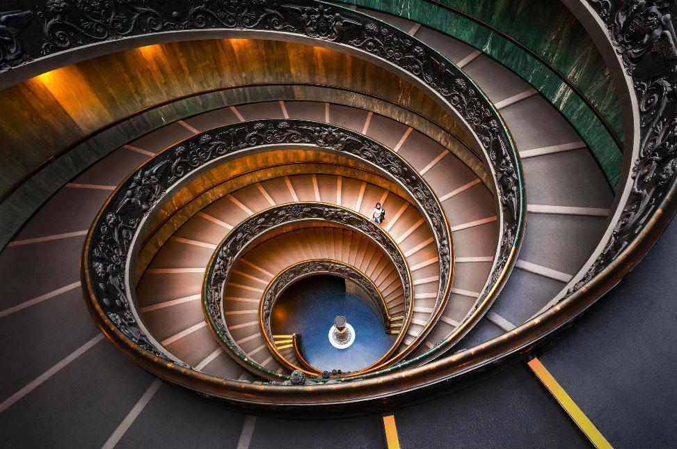 10 معماری اسپیرال