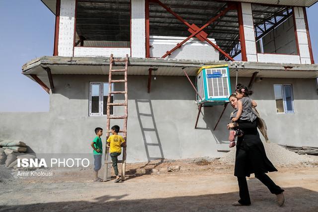 ماهانه بیش از 1000 واحد در مناطق زلزله زده بازسازی می گردد