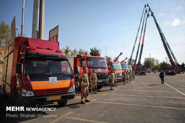 سازمان آتش نشانی آبادان تجهیز می گردد