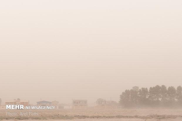 پیش بینی گرد و غبار محلی در مناطق جنوبی و مرکزی خوزستان