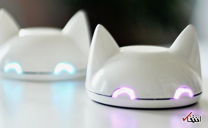 این گربه هوشمند همه چیز را به شما یاداوری می نماید ، دارای بلوتوث ، ارسال وضعیت موقعیت مکانی