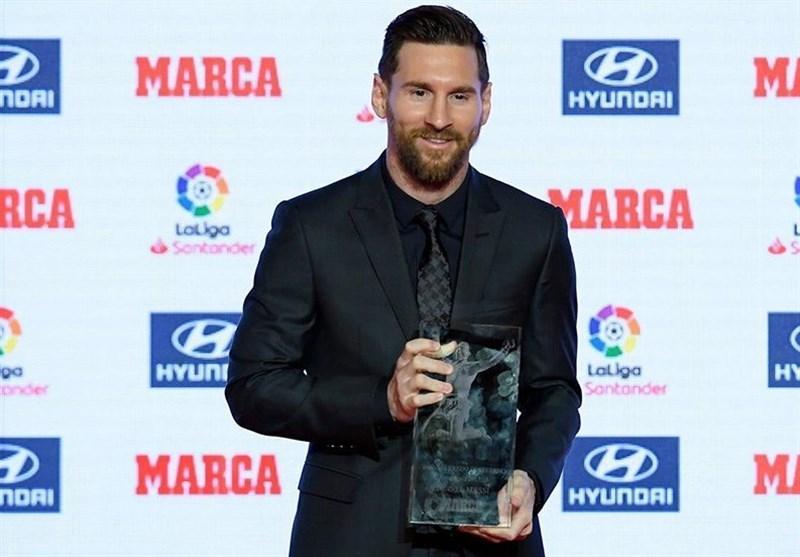 فوتبال دنیا، معرفی برترین های لالیگا؛ لیونل مسی جایزه پیچیچی و دی استفانو را دریافت کرد