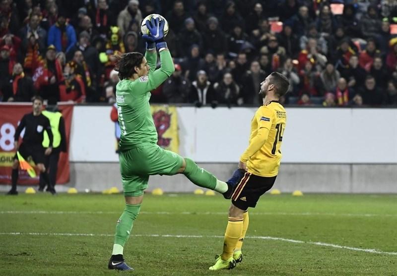 فوتبال دنیا، سوئیس با برتری قاطعانه مقابل بلژیک به نیمه نهایی لیگ ملت های اروپا راه یافت