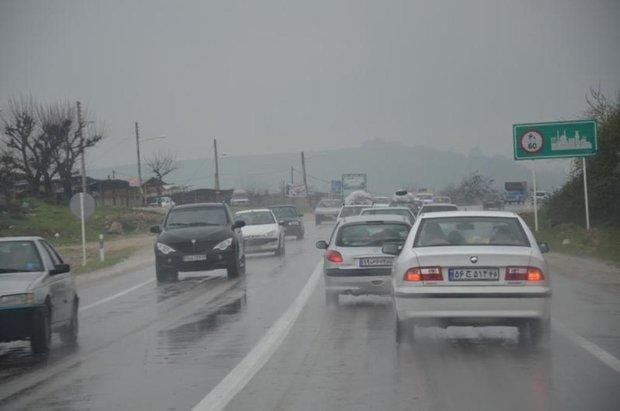 هشدارهای پلیس برای لغزندگی جاده ها در آخر هفته