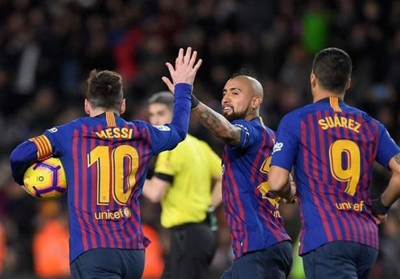 درخشش مسی شکست را برای بارسلونا به تساوی تبدیل کرد