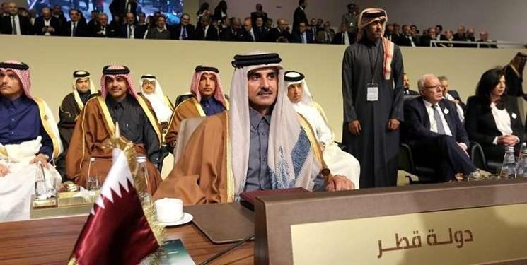امیر قطر اجلاس عربی-اروپایی در مصر را تحریم کرد
