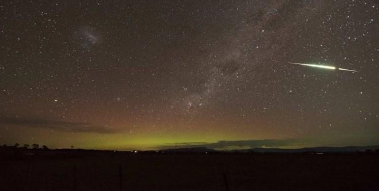 بارش شهابی در آسمان استرالیا