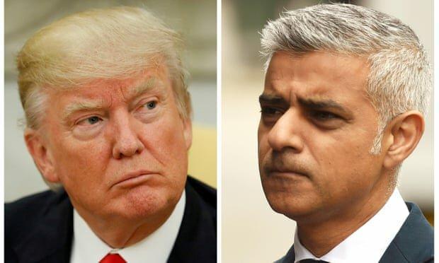 ترامپ: شهردار لندن یک فاجعه و آبروریزی است