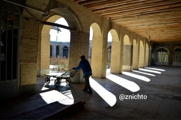گزارشی از چرخچی گری در بازار زنجان