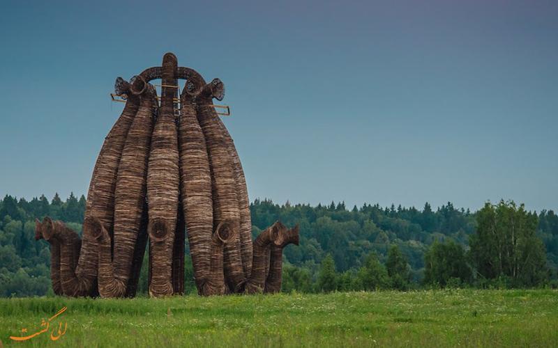 دیدنی های نزدیک مسکو و آشنایی با مناطق روستایی روسیه