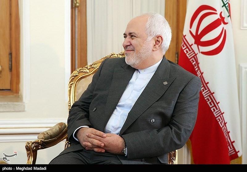 دیدار ظریف با وزیر امور خارجه فرانسه