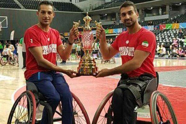 نمایندگان ایران در جمع بهترین های بسکتبال با ویلچر ژاپن