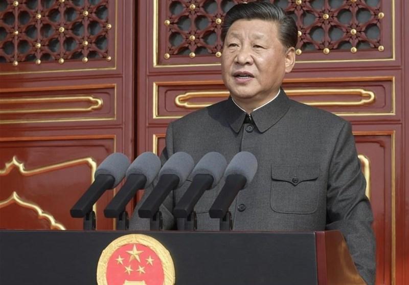 رئیس جمهور چین: هیچ نیرویی قادر به توقف حرکت رو به جلوی مردم ما نیست