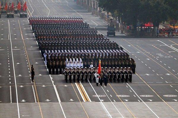 برگزاری آیین گرامیداشت هفتادمین سالگرد تأسیس جمهوری خلق چین