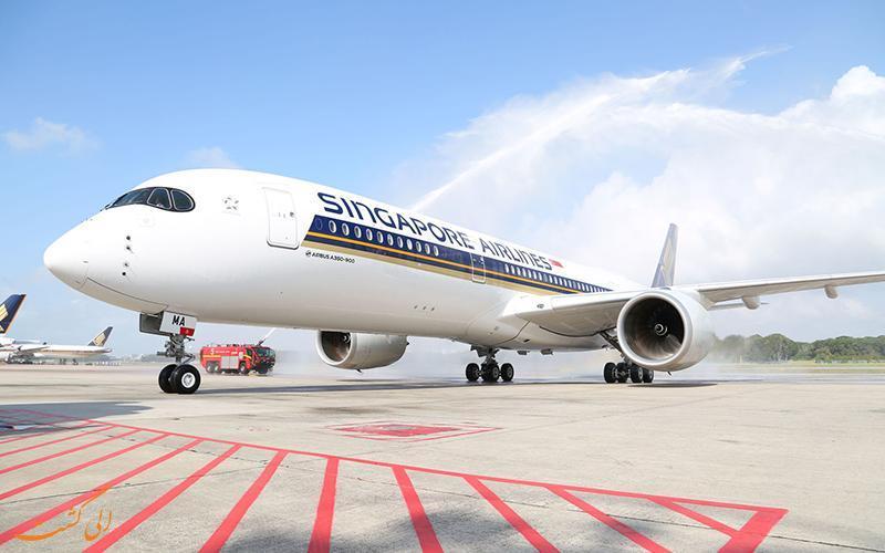 معرفی شرکت هوایپمایی سنگاپور