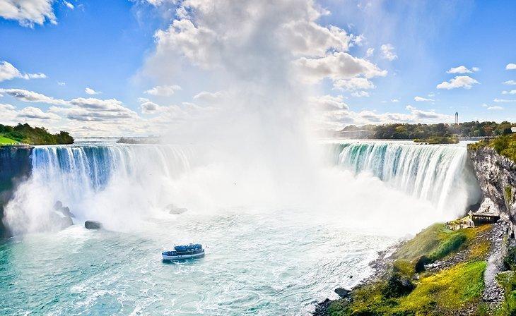 سفر روزانه به آبشارهای نیاگارا کانادا