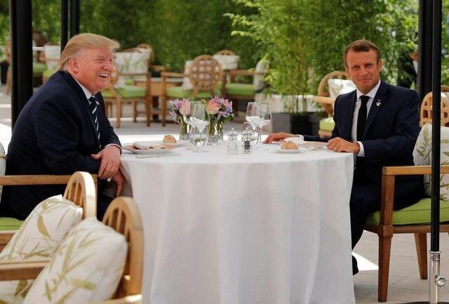 پرس تی وی پاسخ آمریکا به درخواست فرانسه درباره ایران را خاطرنشان کرد