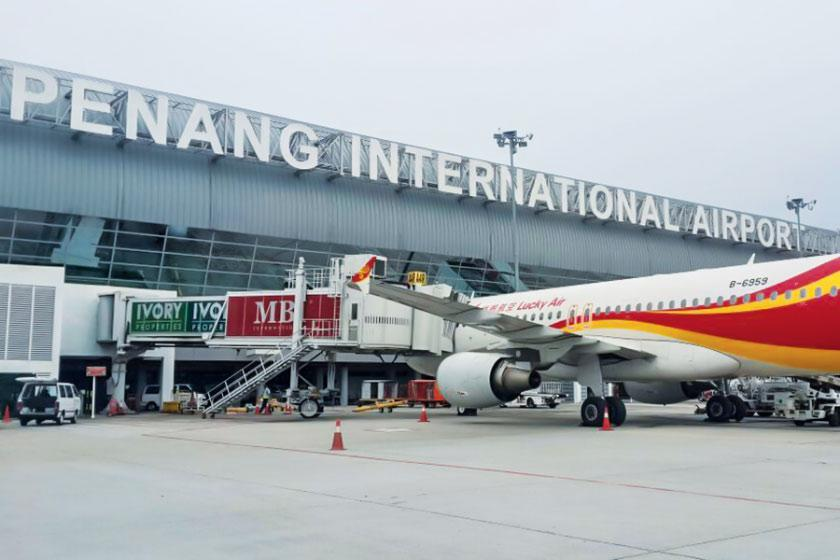 اشنایی با فرودگاه پنانگ، مالزی
