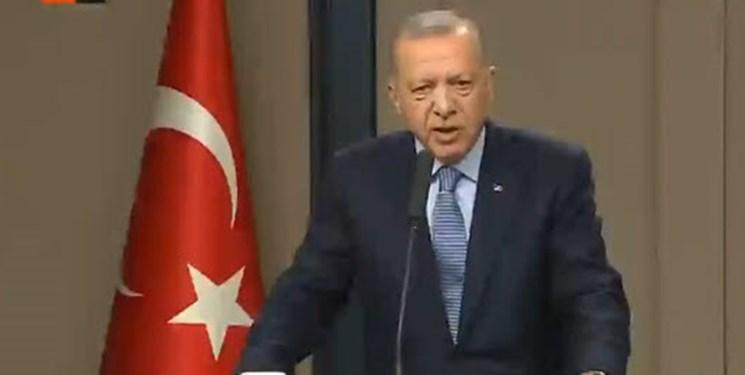 اردوغان: غربی ها یک قطره نفت را به خون صدها سوری ترجیح می دهند