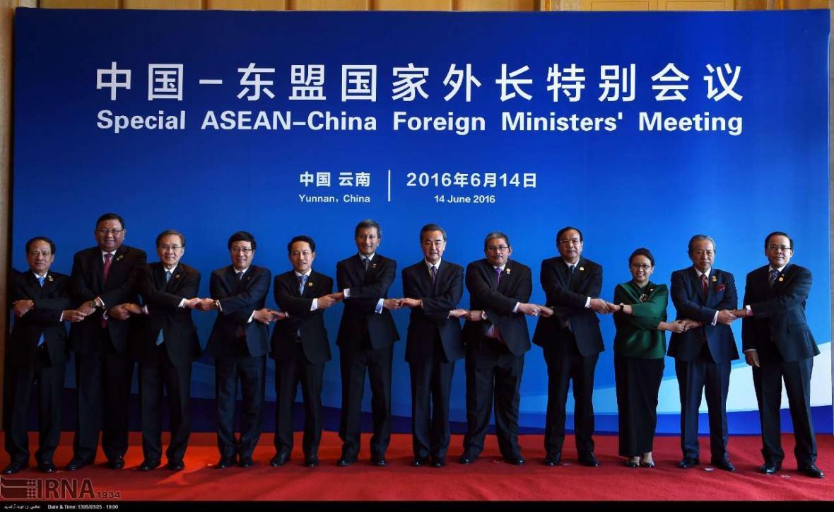 آ.سه.آن: اقدامات پکن در دریای چین جنوبی صلح و امنیت را تضعیف می نماید