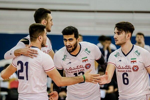 رقابت تیم والیبال جوانان ایران با ایتالیا برای قطعی کردن صعود