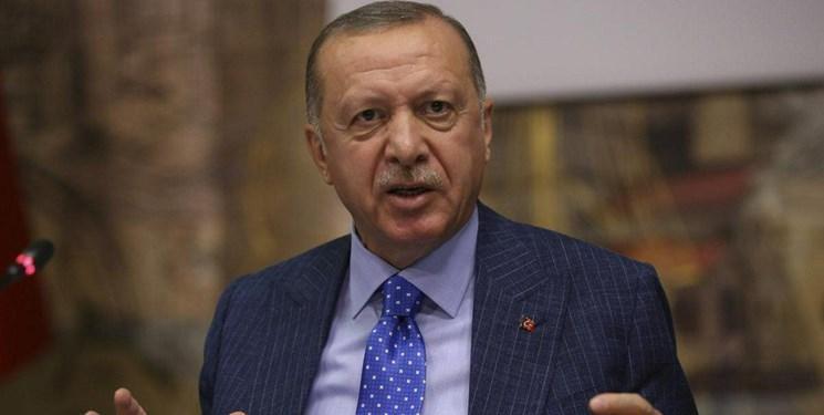 اردوغان: شبه نظامیان کُرد عقب نشینی را شروع نموده اند