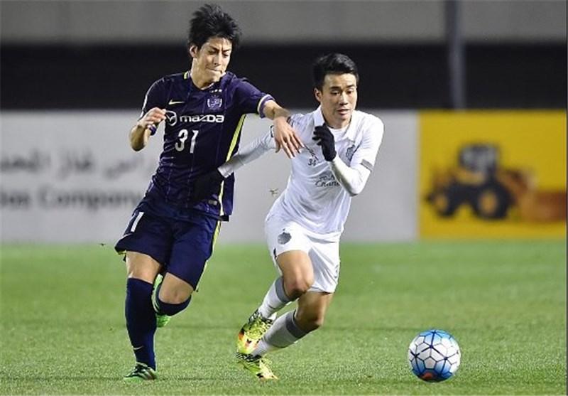 برد آسان سانفرسه ژاپن در خانه نماینده تایلند