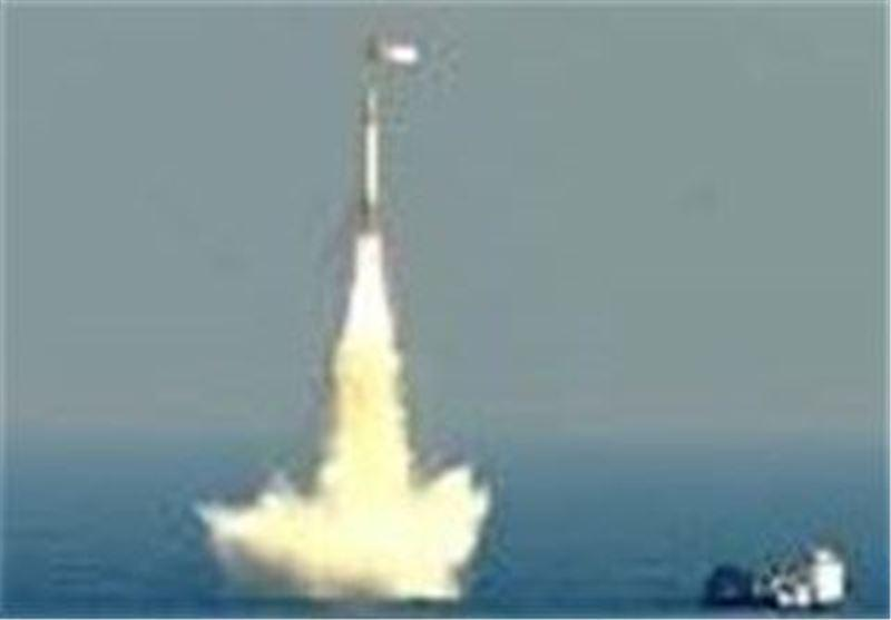 پرتاب موفقیت آمیز نخستین موشک بالستیک هند از سکوی زیر آب