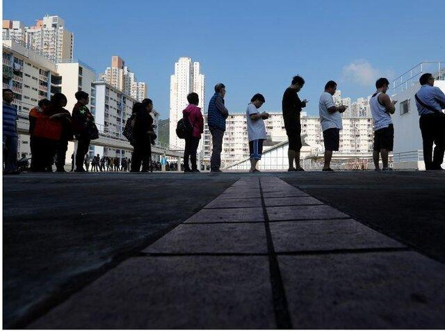 انتخابات محلی هنگ کنگ شروع شد