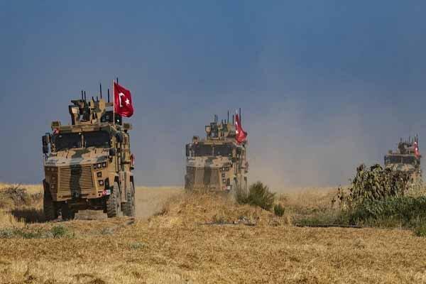 کشته و زخمی شدن چند نظامی ترکیه براثر انفجار در سوریه
