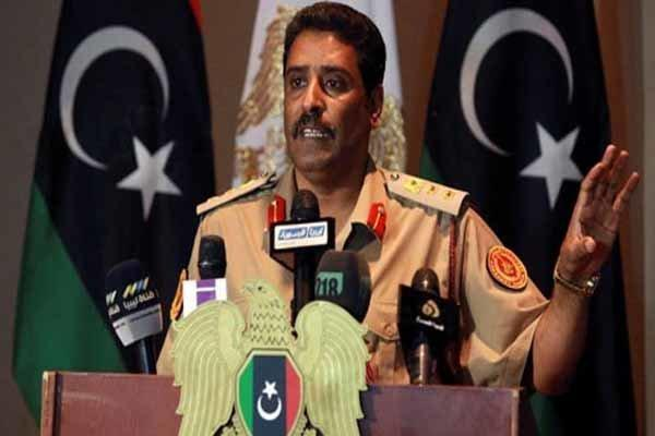 انتقاد ارتش ملی لیبی از اقدامات ترکیه در این کشور