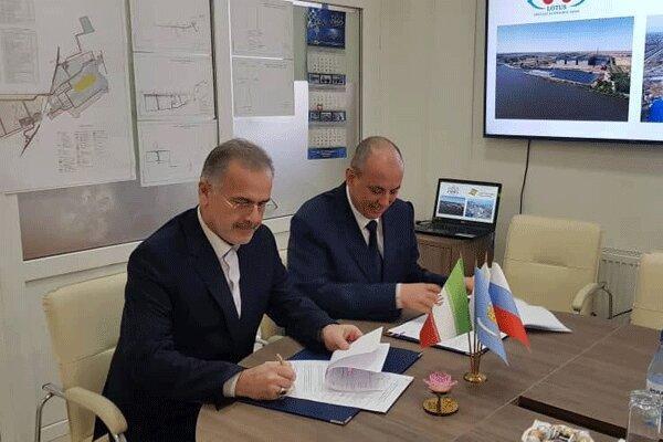 امضا توافقنامه کریدور شمال-جنوب