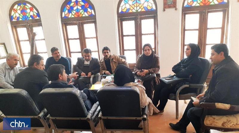 جلسه برنامه ریزی ویژه گردشگران خارجی در سنندج برگزار گردید