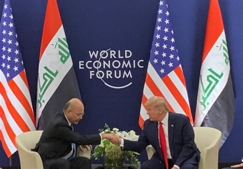بیانیه کاخ السلام درباره ملاقات صالح با ترامپ