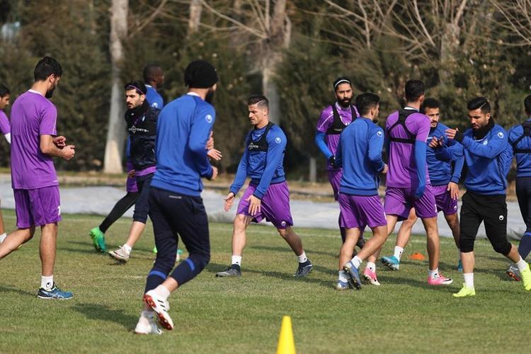 ریکاوری بازیکنان استقلال در دبی