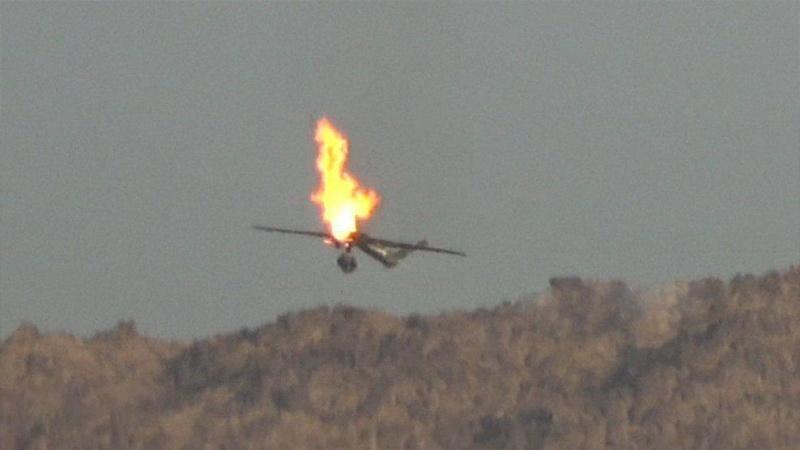 ادعای طالبان مبنی بر ساقط کردن یک هواپیمای بدون سرنشین آمریکایی