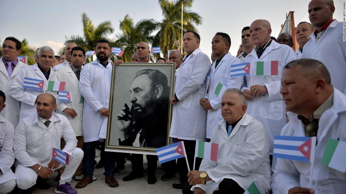 رد پیشنهاد کمک پزشکی کوبا برای مبارزه با ویروس کرونا توسط آمریکا
