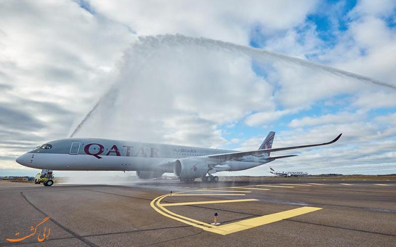 با آداب و رسوم واتر سالوت یا خوش آمدگویی هواپیماها آشنا شوید!
