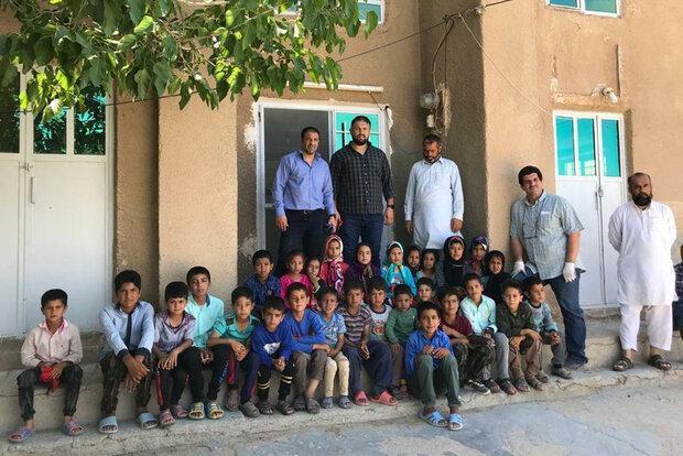 احداث کلاس درس به همت قهرمانان کشتی در روستاهای محروم