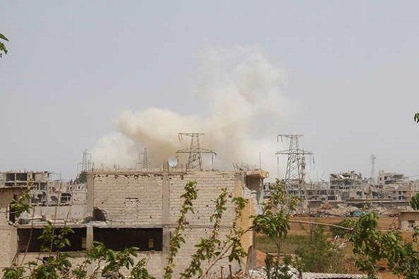 وقوع انفجار در حومه حسکه سوریه