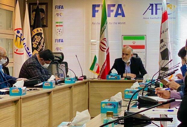 جزئیات اصلاح اساسنامه فدراسیون از زبان نبی، ارسال اساسنامه به فیفا