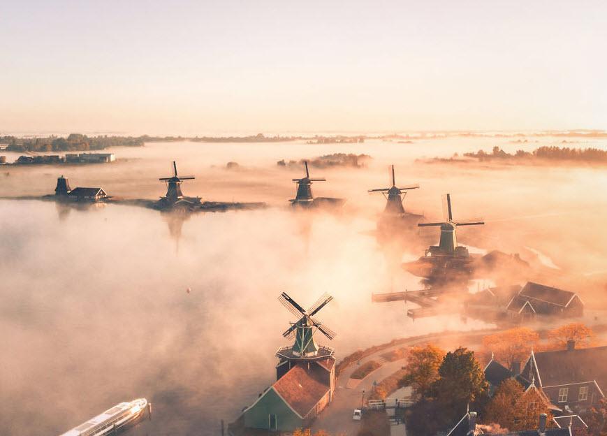 بهترین عکس های هوایی از مناظر زیبای زمین در سال 2020