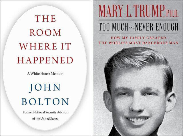 کتابهای ضد ترامپ در صدر فروش آمازون
