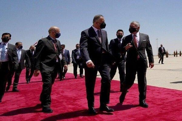 ملاقات نخست وزیر عراق با شاه اردن