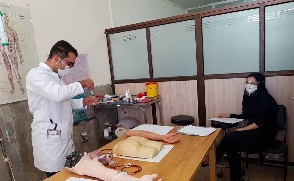 برگزاری آزمون بالینی ساختارمند عینی در دانشگاه آزاد اسلامی دهاقان