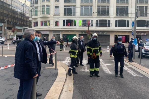 حمله با چاقو در فرانسه، 3 نفر کشته شدند