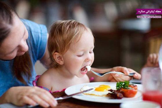 غذای کودک یک ساله تا دو ساله چیست؟