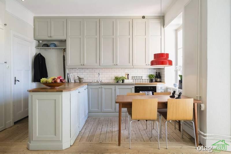 چگونه با تغییر کابینت دکوراسیون آشپزخانه را عوض کنیم