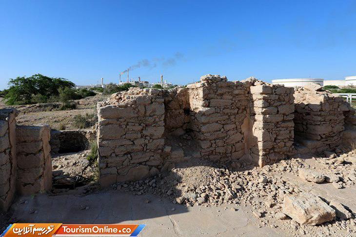 دیواره های کلیسای نسطوری جزیره خارگ تثبیت شد