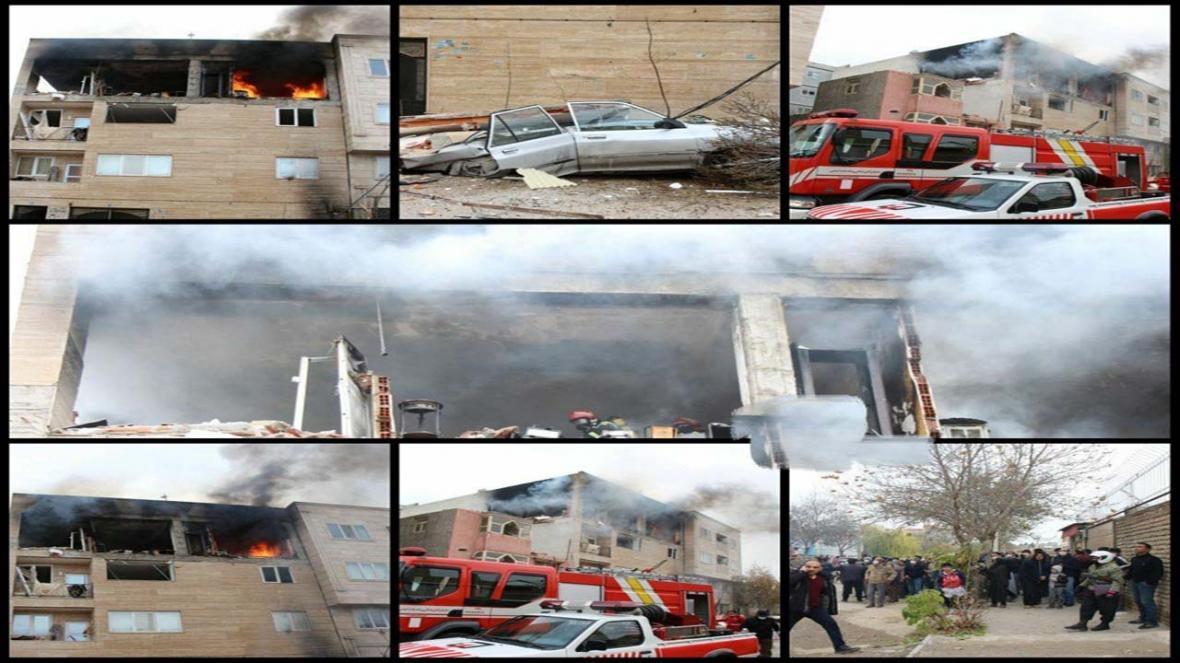 انفجار شدید منزل مسکونی در بجنورد